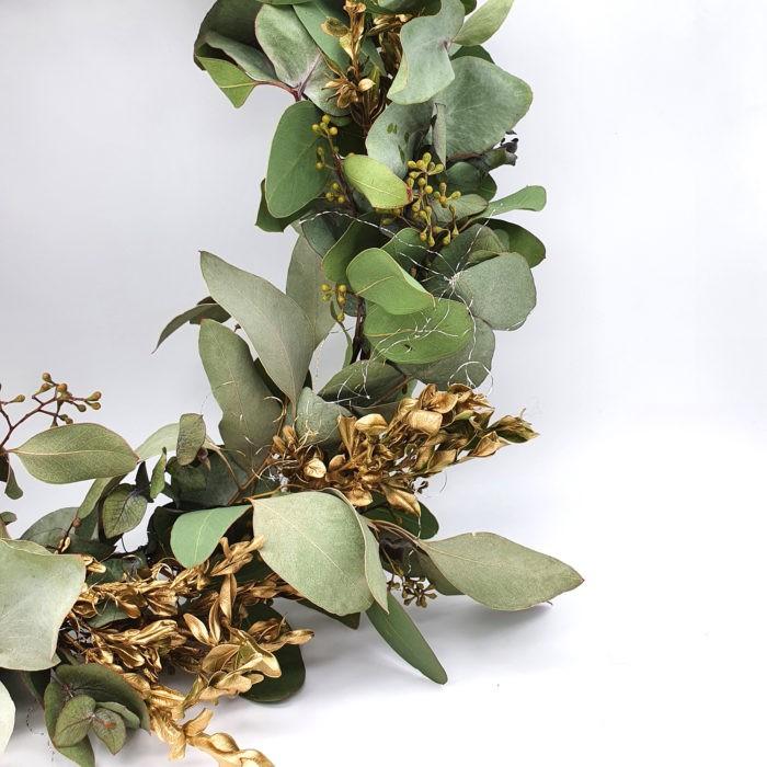 DIY Bastelset Eukalyptuskranz Boho