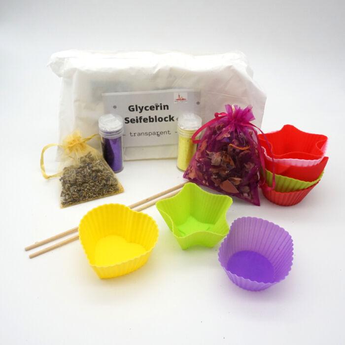 Bastelset-Seifen-giessen-Lavendel