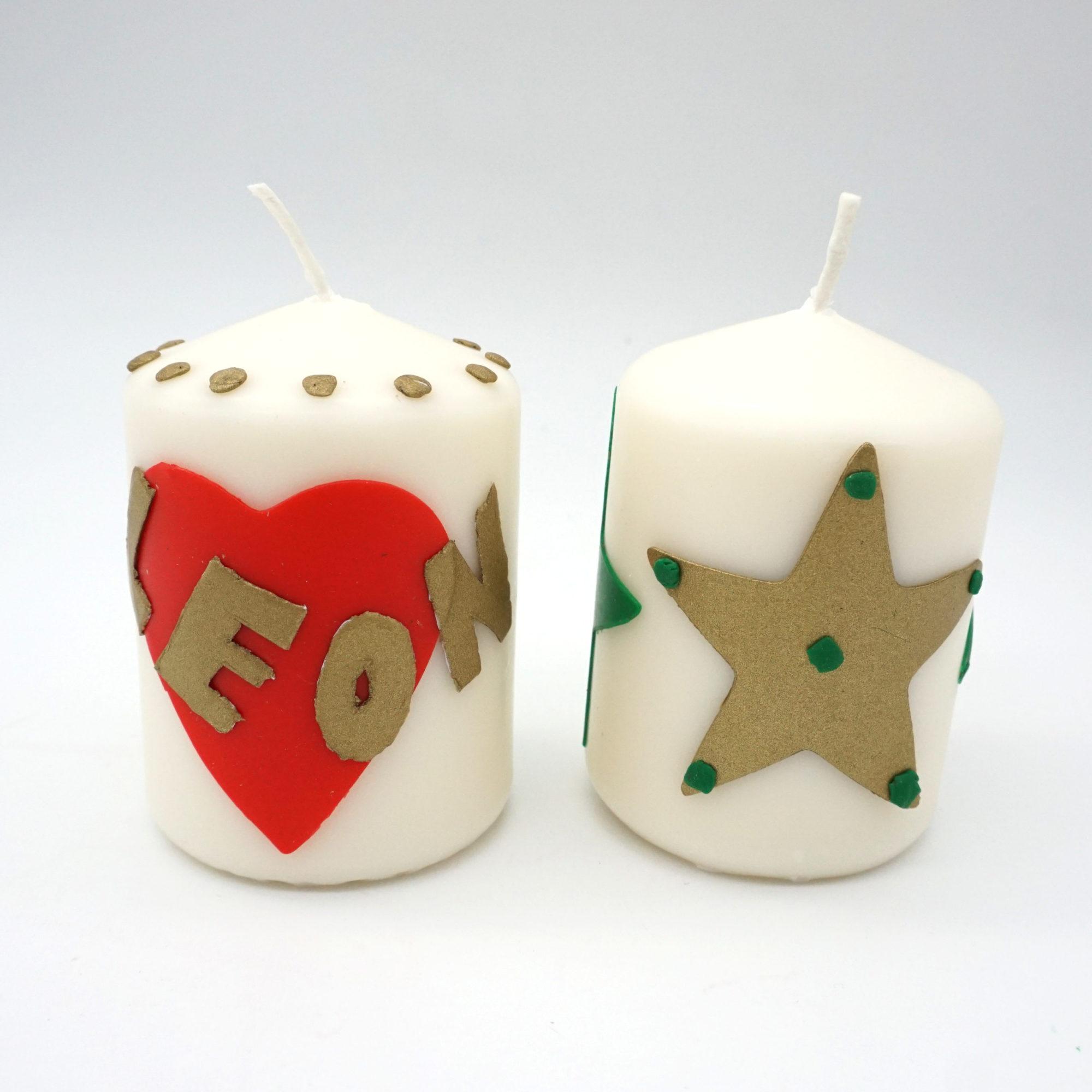 Bastelset Kerzen gestalten mit Wachsplatten