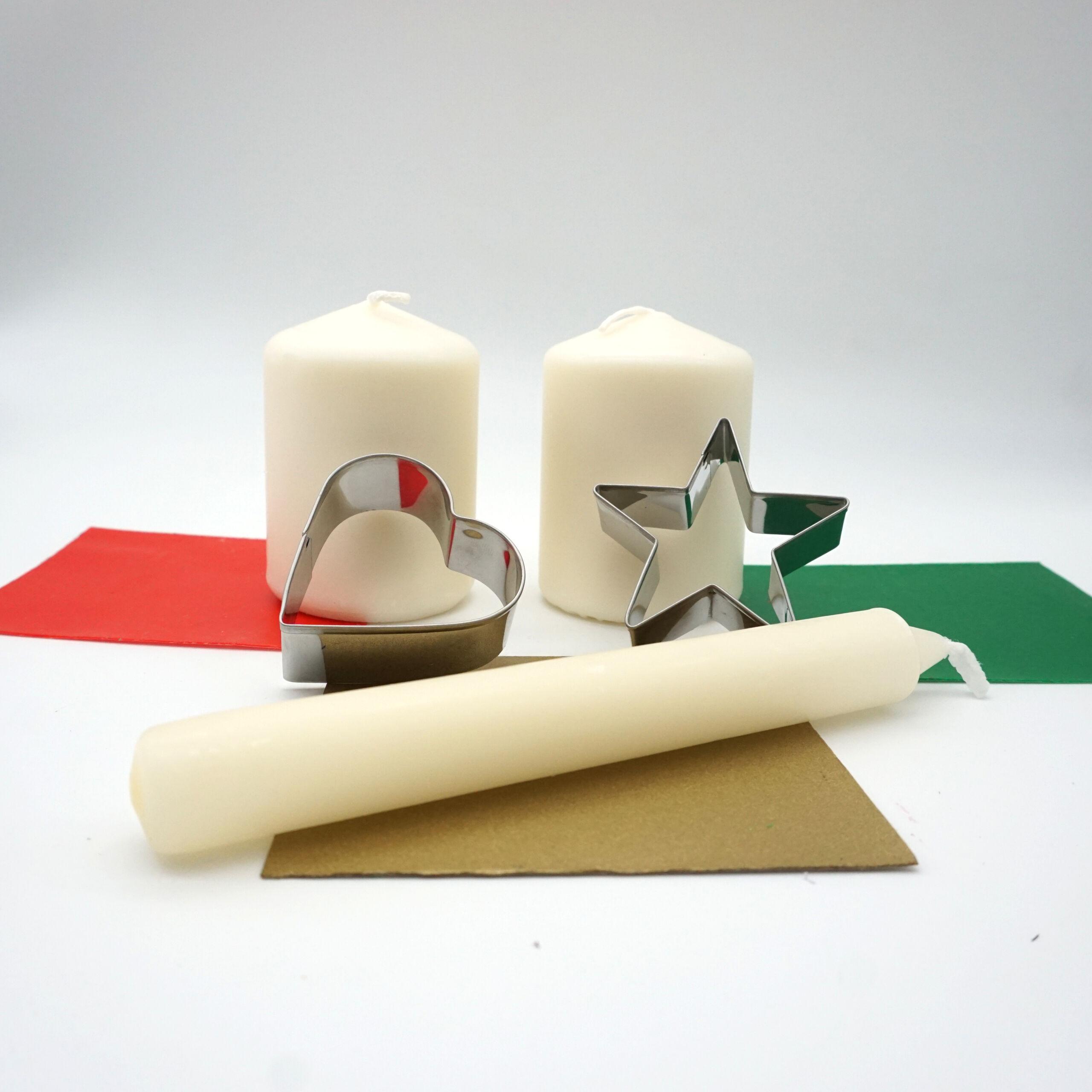 DIY Bastelset Kerzen gestalten