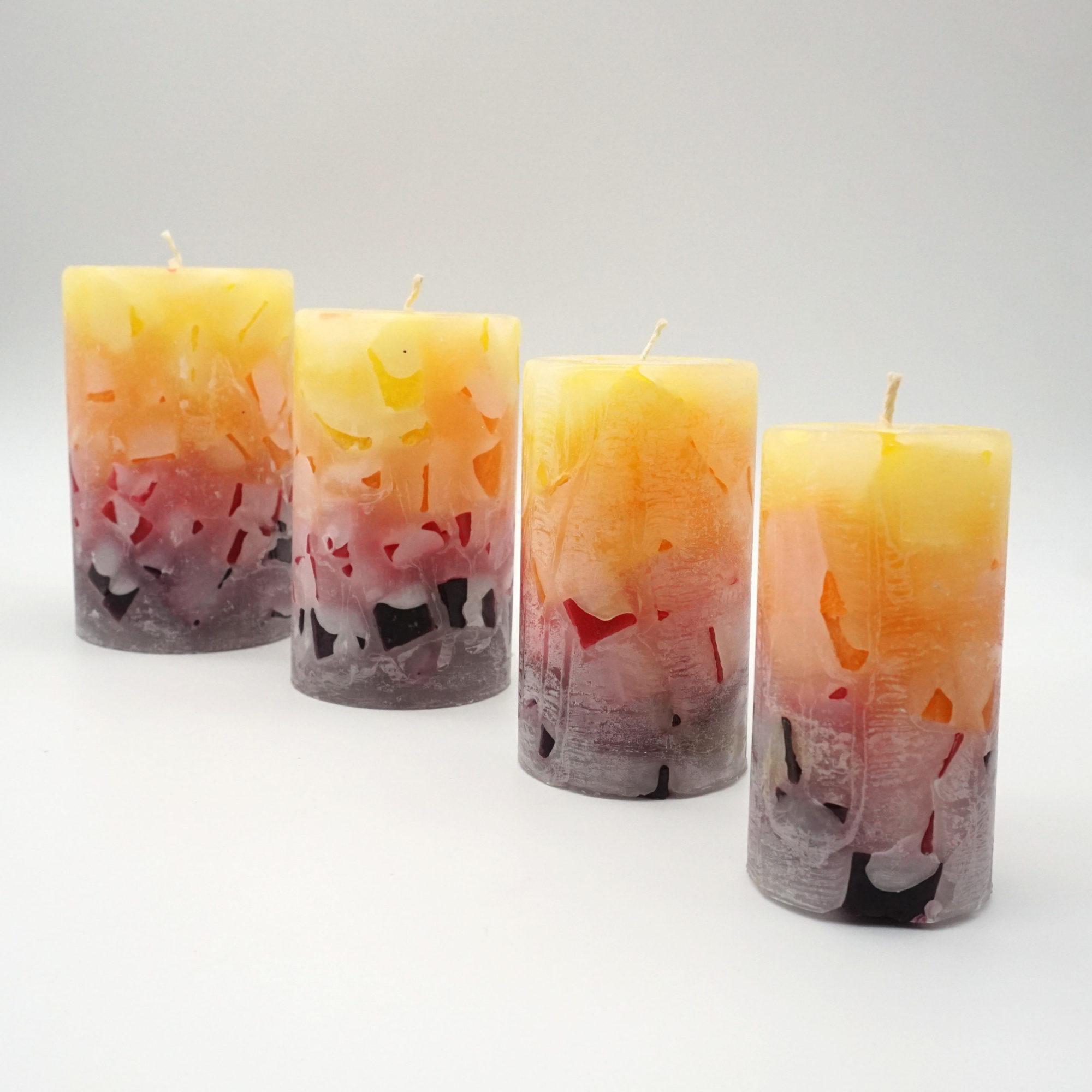 Kerzen-Set-Wachswürfel