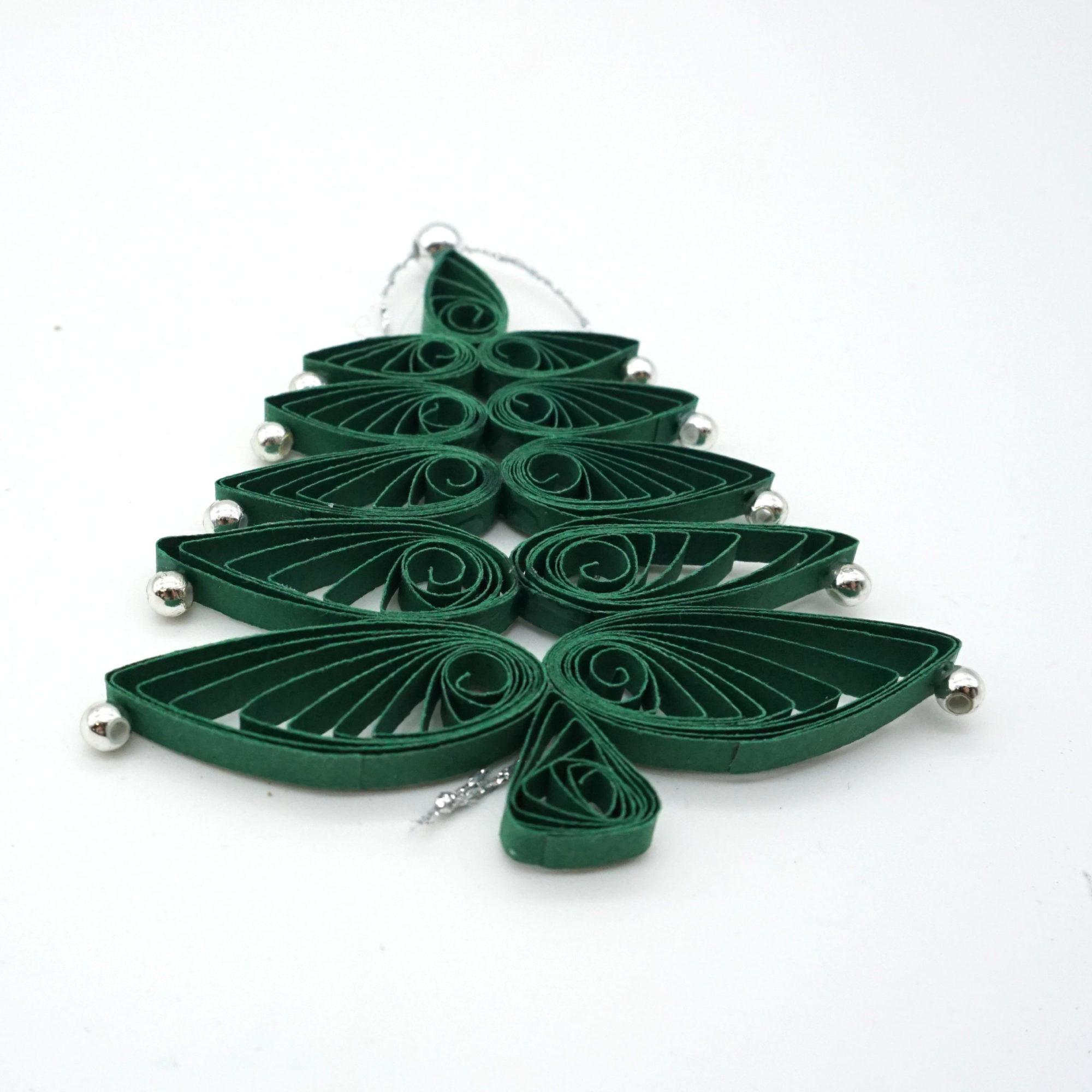 Quilling Tannenbaum Weihnachten
