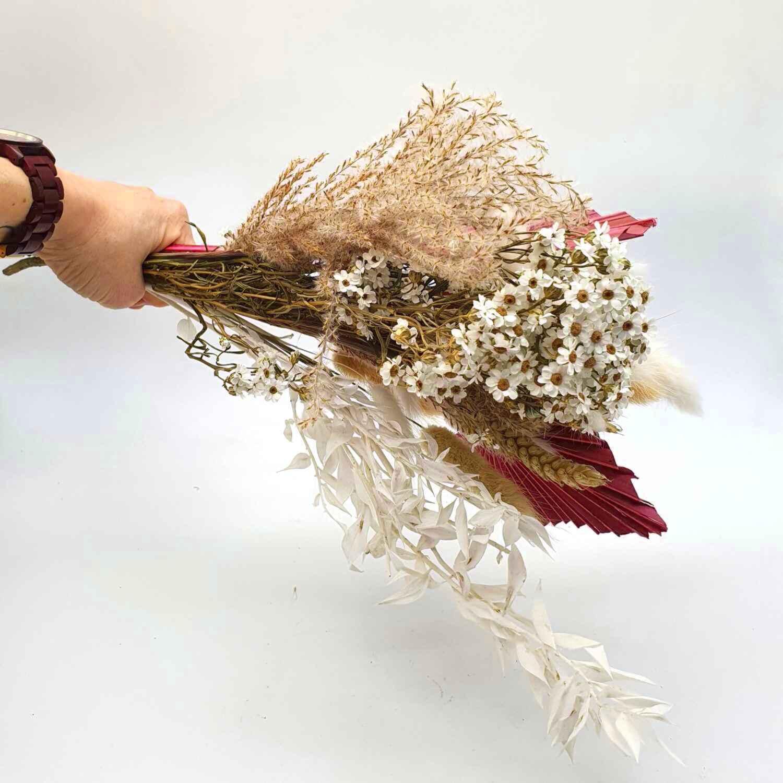 Trockenblumen Dried Flower für Kranz Dekoration