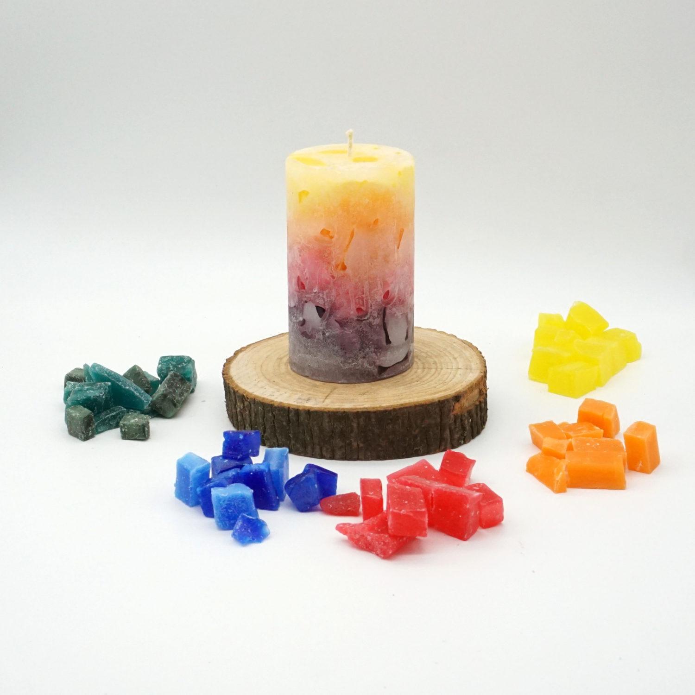 Kerzen Wachs-Cracker zum Kerzen gestalten / Kerzen Gießen