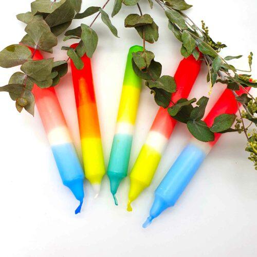 Dip Dye Kerzen - Kerzen tauchen