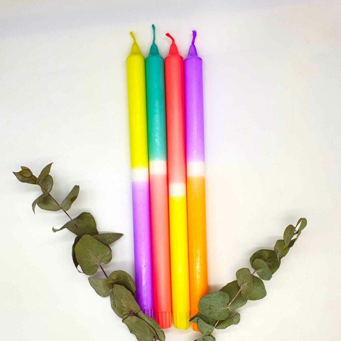 Dip Dye Kerzen lang kaufen
