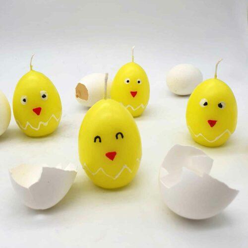Kerzen Küken zu Ostern