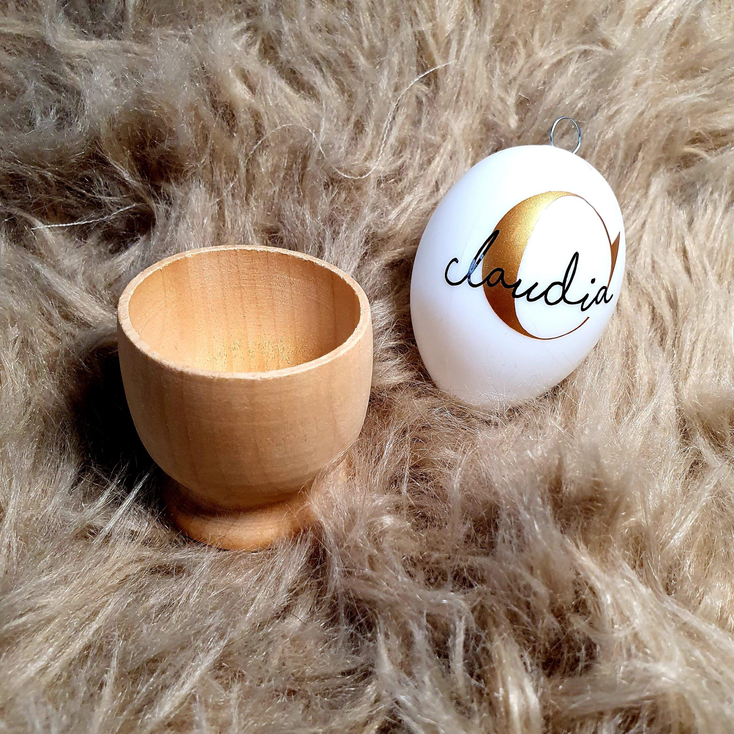 Osterkörbchen Ei Personalisiert