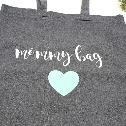 Tragetasche Einkauftasche Mommybag - Individuell und Personalisierbar Geschenk Babyparty