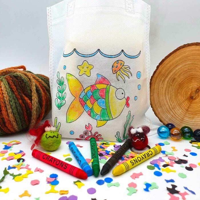 Kindertagsbeutel Bastelset Geschenk zum Kindertag