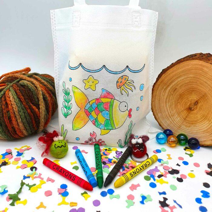 Kindertagsbeutel Geschenk zum Kindertag Bastelset